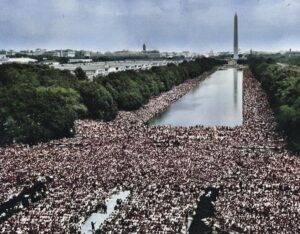 March on Washington on August 28, 1963